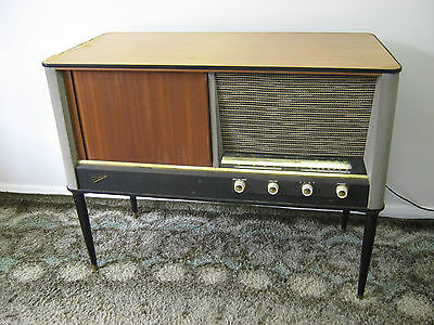 Vintage Marconi Radiogram, Marconiphone RG95, record player, refurb. Northants