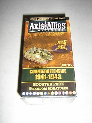 Axis & Allies Miniatures: Counteroffensive 1941-1943 Booster (New)