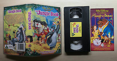 Disney - The Jungle Book - Vhs Video