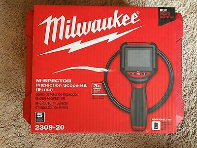 Milwaukee M-Spector Inspection Scope Kit 2309-20 (9 mm) New, Free Ship to US48!
