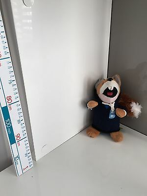 Basil Brush Plush Soft Toy In A Blue Hoodie
