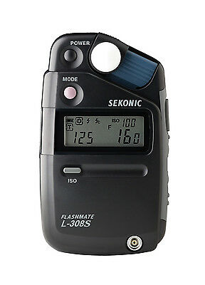 Sekonic L-308S Flashmate Digital Incident, Reflected & Flash Light Meter