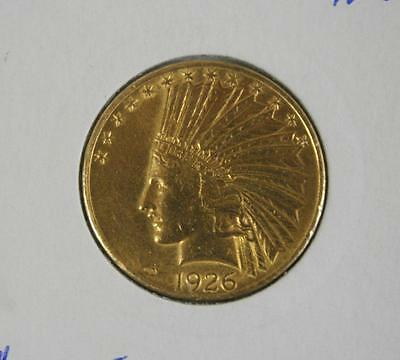 1926 United States Gold $10.00 Indian Head - Free Postage in Australia