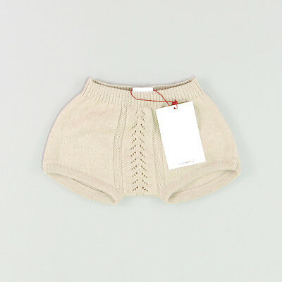 Shorts punto color Beige marca Neck & Neck 6 Meses