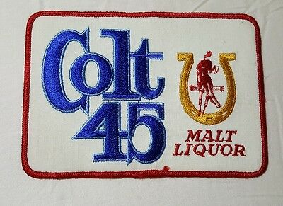 Beer Patch Colt 45 Malt Liquor Large Back Size Look And Buy Now!!*