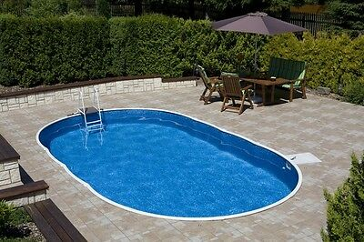 Swimming Pool Kit full package for the DIY person 7.3m x 3.7m x 1.2m depth
