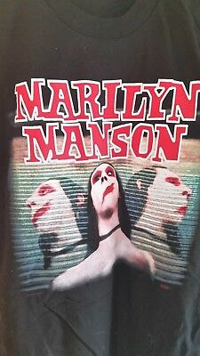 MARILYN MANSON 1997 Sweet Dreams Dead to the World vintage concert tour shirt XL