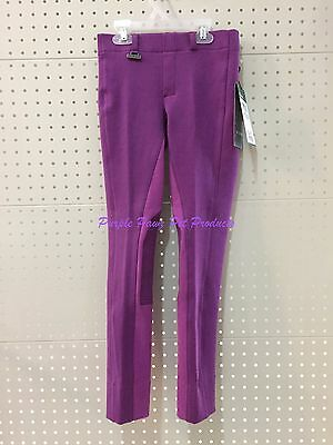 ~Dublin Supa Fit Classic Pull On Jodhpurs / Kids/girls / Purple/pink / 5 Sizes~