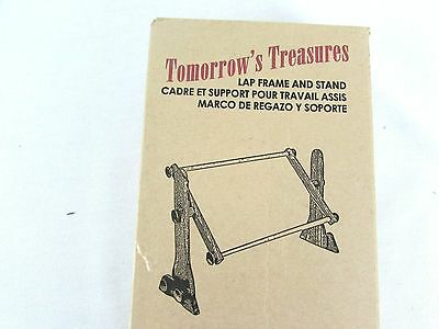 Tomorrows Treasures Lap Frame & Stand American Dream Cross Stitch Needlework