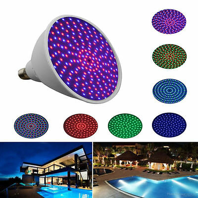 US 24W Swimming Pool Color Changing LED Bulb Hayward light Underwater Lamp