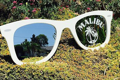 "Malibu Rum Sunglasses Whiskey Tequila Beer Bar Man Cave Pub  Mirror ""New"""