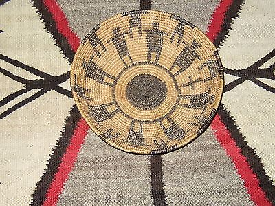 Pictoral Apache Basket: Friendship Circle