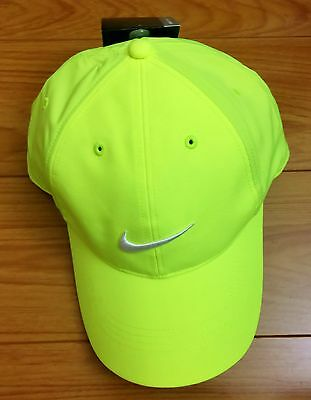 NIKE GOLF DRI-FIT ADULT BALL CAP, ADJUSTABLE HAT, size MISC - Green