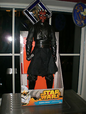 "NEW Star Wars Darth Maul 18"" Figure"
