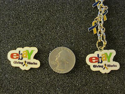 New Key Chain & Pin set eBay Giving Works eBayana Collectible