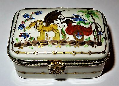 Limoges Box - Tiffany Private Stock - Le Tallec - Rectangular Cirque Chinois
