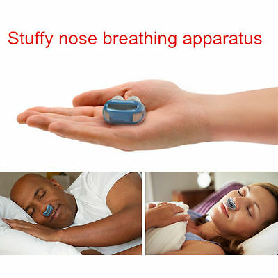 Stop Grinding Snoring Slient Sleeping Aid Nose Clip Breathing Stuff Health Care