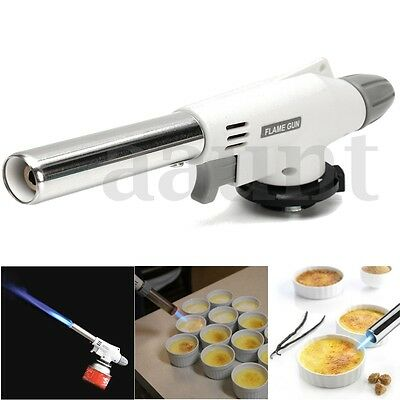 Profesional Culinary Torch Cooking Butane Kitchen Chef Refillable Creme Brulee