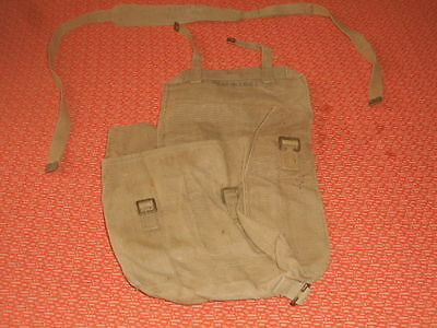 G.BRITAIN :: 1941 WWII - SMALL  BACKPACK  HAVERSACK 1941 WWII  nice