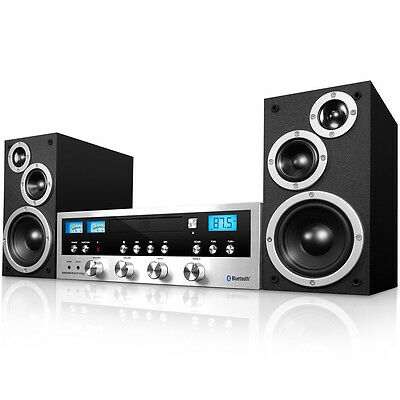 Innovative Technology Icds-5000 Retro Micro Hi-Fi System Cd Bluetooth Fm Aux-In