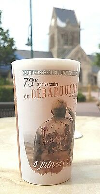 D-Day 73rd 2017 Saint Mere Eglise collectablle cup Rare