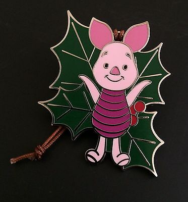 Disney Parks Limited Release Woodland Winter Ornament Mystery Set Pin Piglet
