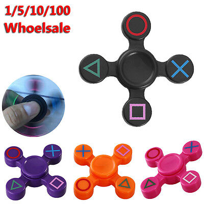 Fidget Hand Spinner Finger Torqbar EDC Focus Toy Gyro Kids FOR PlayStation PS4