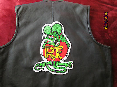 Large Rat fink patch