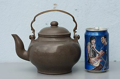 Antique Chinese Yixing Pottery Teapot with DRAGON MARK