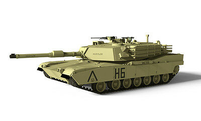RC Tank Waltersons 1/72 Us MBT M1A1 Abrams Tank Desert Yellow - RC Addict