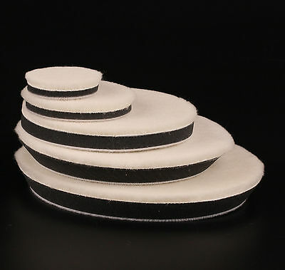 """1-10Pcs (2""""-7"""") Woolen Car Polishing Buffing Pad Kit for Care Cleaning Polisher"""