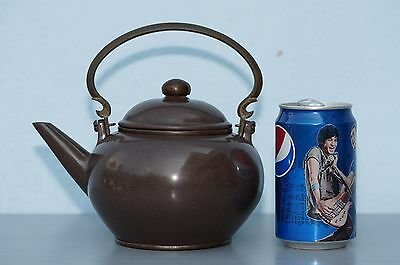 Antique Chinese Yixing Pottery Teapot with GONG GEK MARK