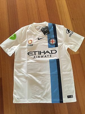 Melbourne City Home Nike Shirt Jersey  BNWT Free Post