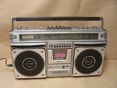 Sharp GF-8585 Boom Box, Portable stereo Radio