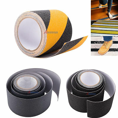 4''x15' Roll Anti Slip Tape Safety Non Skid Tape Grip Safe Grit Sticker Adhesive