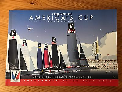 America's Cup World Series OFFICIAL COMMEMORATIVE PROGRAMME. Portsmouth 2016