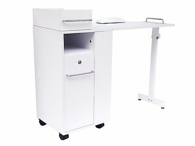 Foldaway Manicure Station with Storage & Desktop Display Feature