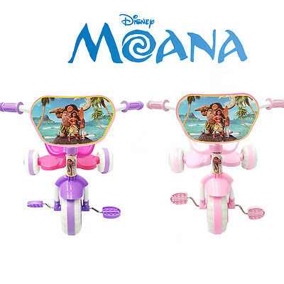 New Disney Moana Bike Trike Tricycle Kid Girl Child 3 Wheel Car Ride On Toy