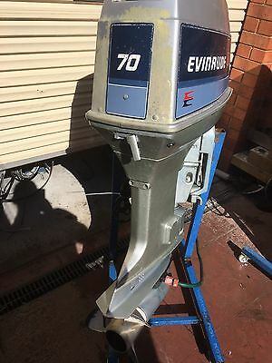 70 HP Evinrude/Johnson  OUTBOARD MOTOR (Will Freight Australia Wide.)