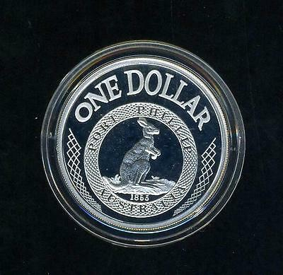 2003 Australian $1 Silver Coin from Masterpieces in Silver Port Phillip Patterns