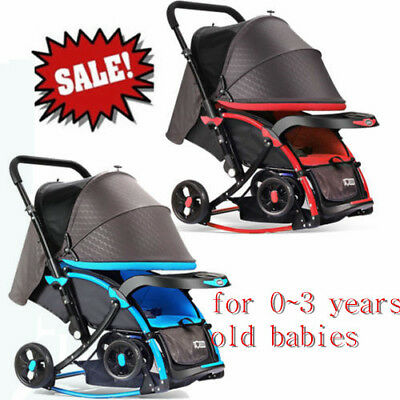 SALE Pram Travel System Stroller Buggy Baby Child Jogger Push Chair Lightweight