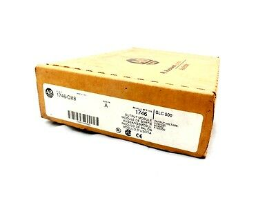 Allen Bradley 1746-Ox8 Slc 500 Output Module Isolated Relay