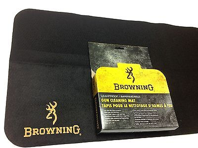 Browning Cleaning Maintenance Bench Mat Rifle / Shotgun Shooting