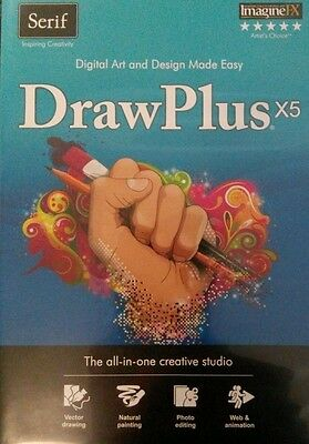 Serif DrawPlus x5 - Digital Art and Design Made Easy - new + code, free delivery