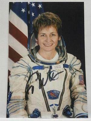 Whitson Astronaut NASA Autograph signed photo 10x15 Soyuz MS-03