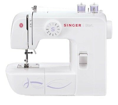 Singer 1306 Industrial Heavy Duty Portable Table Sewing Machine Electric NEW