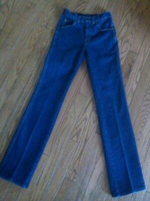 Dark Vintage Early 80's FARAH Kids Jeans 25x31 Boys