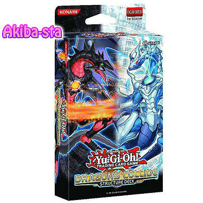 Yugioh English SDDC Structure Deck Dragons Collide 1st Edition Factory Sealed!