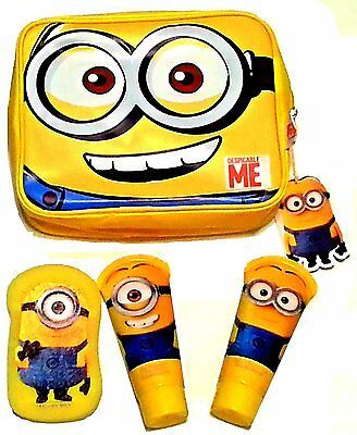 NEW Despicable ME Washbag with 2in1 Shampoo, Shower Gel and Sponge
