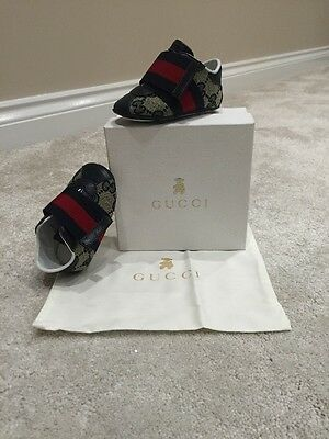 Gucci Baby Trainers Size 17